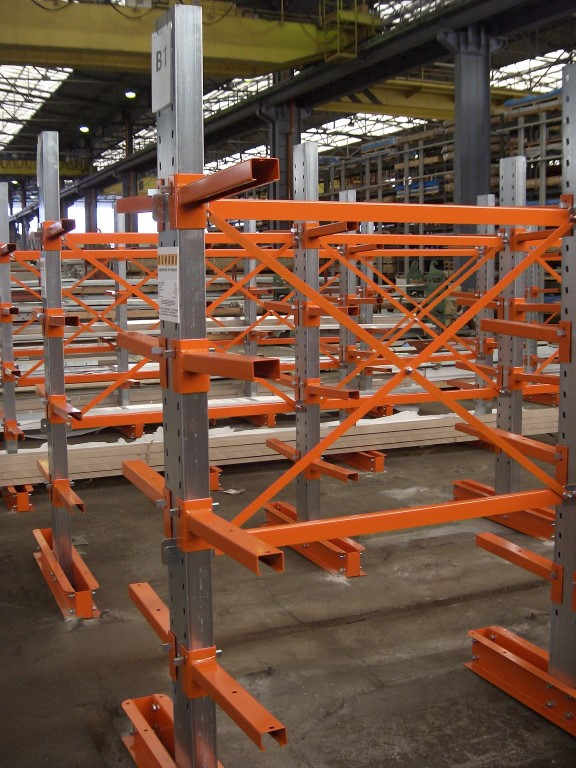 Cantilever racking type SL and SM