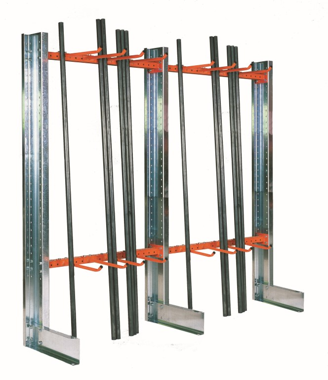 Light-duty cantilever racking type SC for craftsmen and the plumbing trade