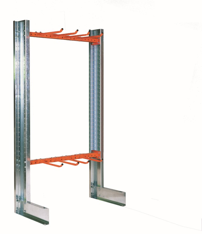 Light-duty single-sided cantilever racking type SC