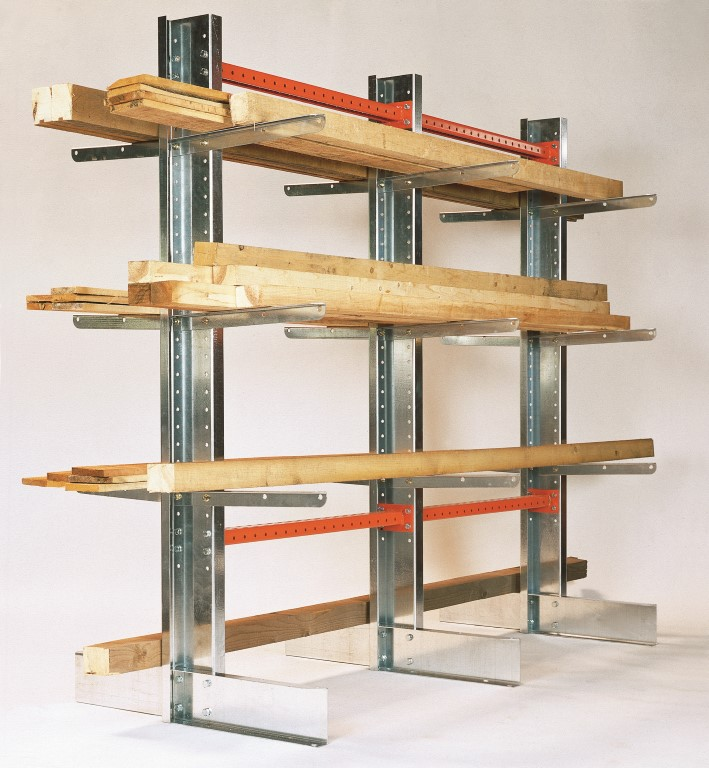 Light-duty cantilever racking type SC for carpenters