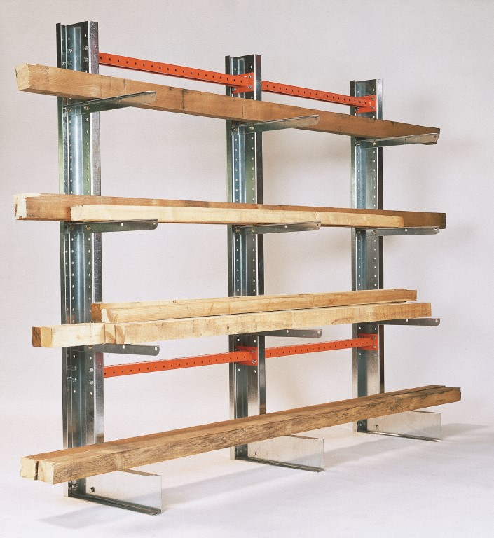 Light-duty cantilever racking type SC for the joinery