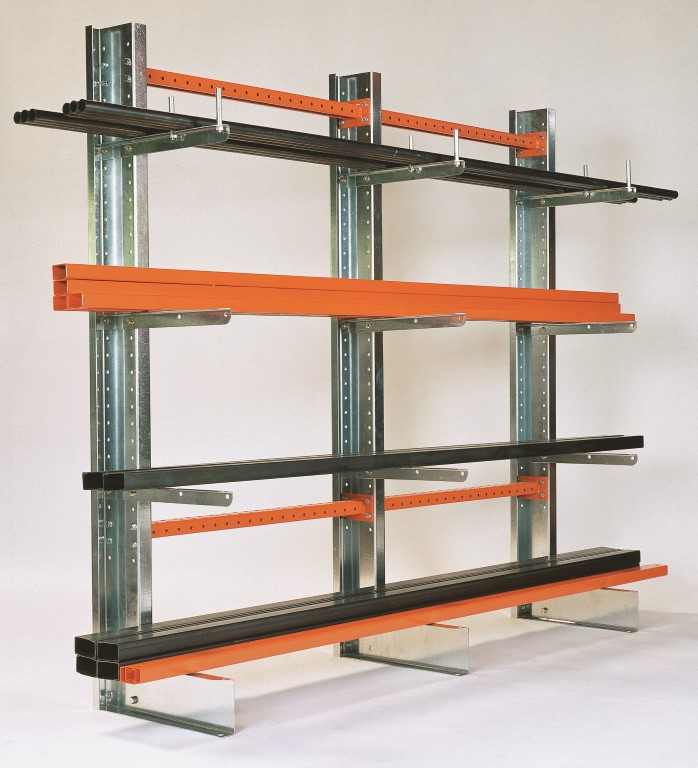 Light-duty cantilever racking for the plumbing trade