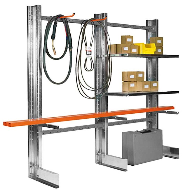 Light-duty cantilever racking type SC for universal storage