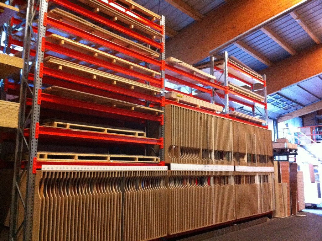 Pallet racking for the timber industry