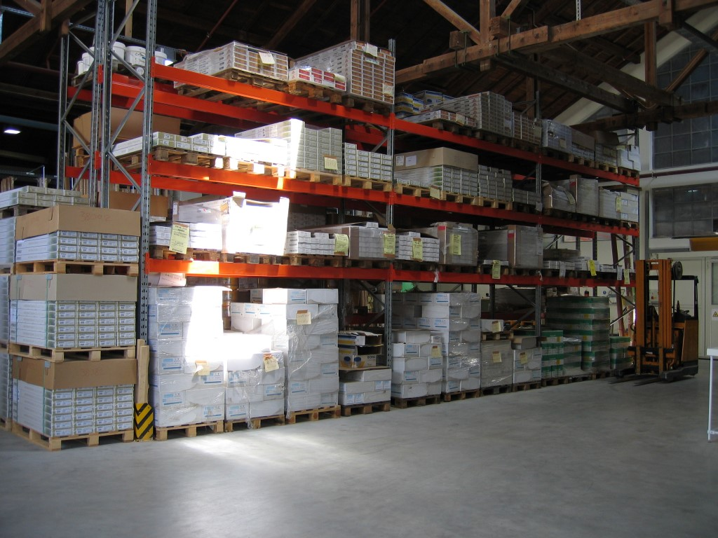 Pallet racking for the timber trade