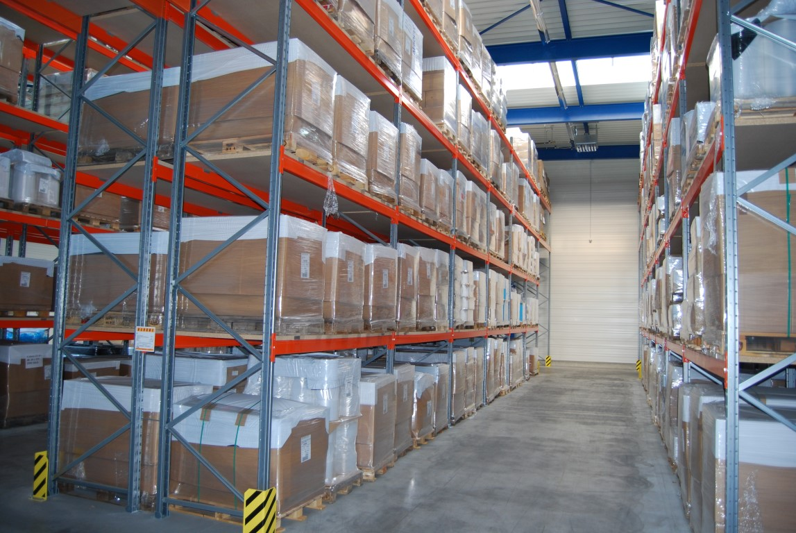 Pallet racking for the logistics sector