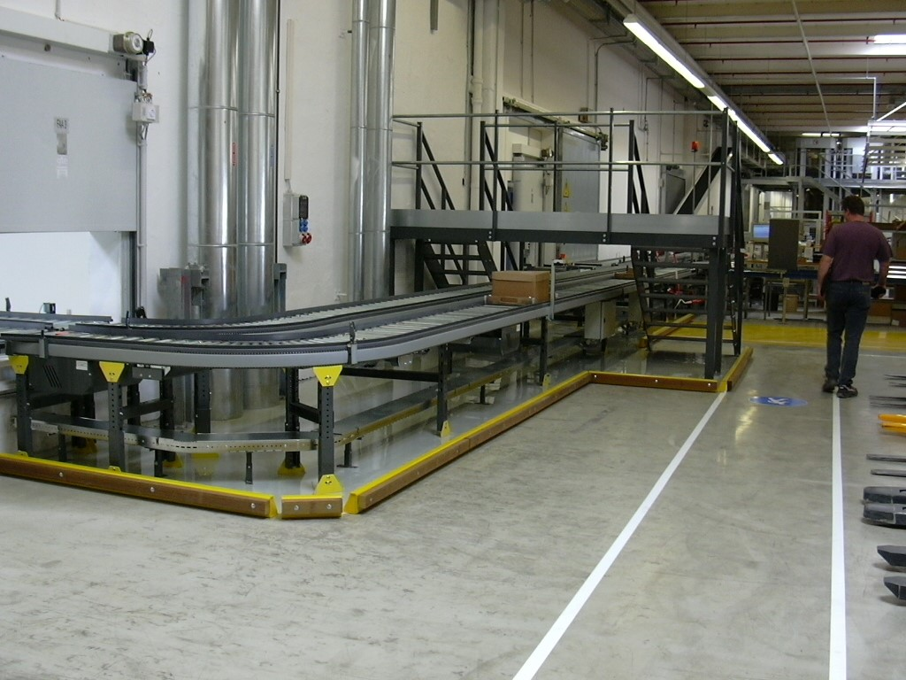 AKL systems with conveyor line