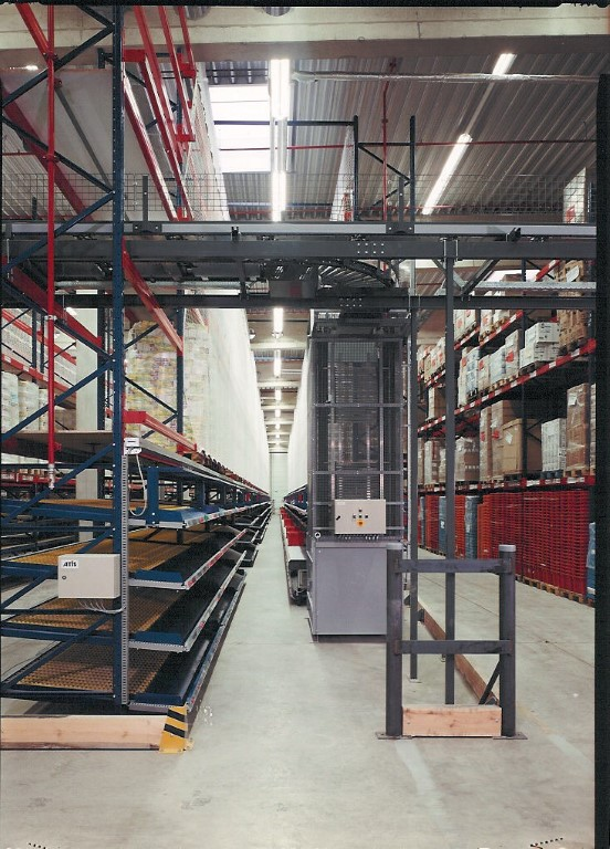 AKL systems with pallet lift