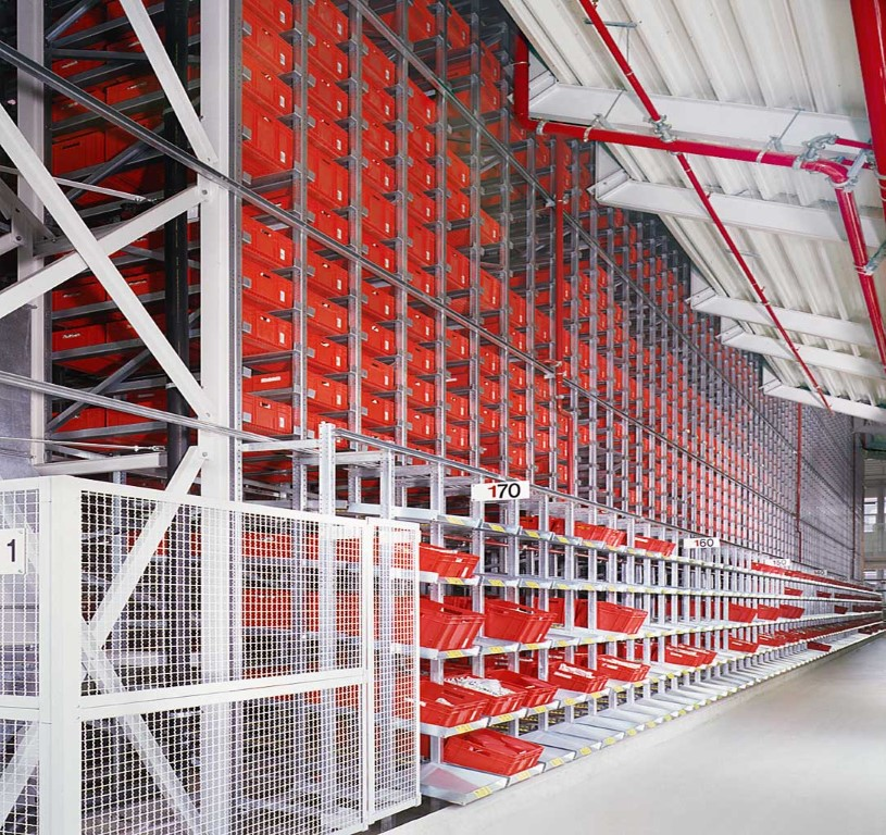 AKL systems automated small parts warehouse for wholesalers