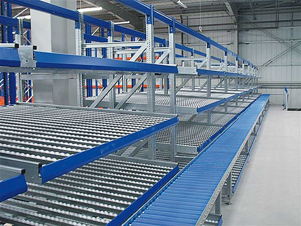 FIFO systems with conveyor technology