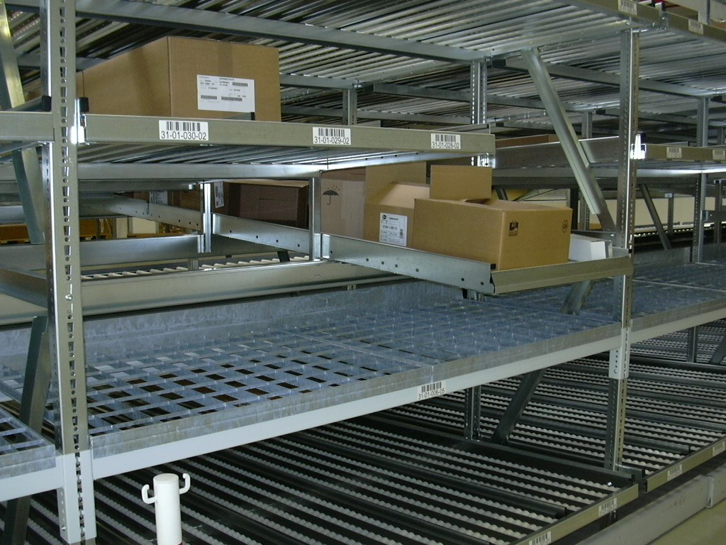 LIFO systems and order picking systems for cartons