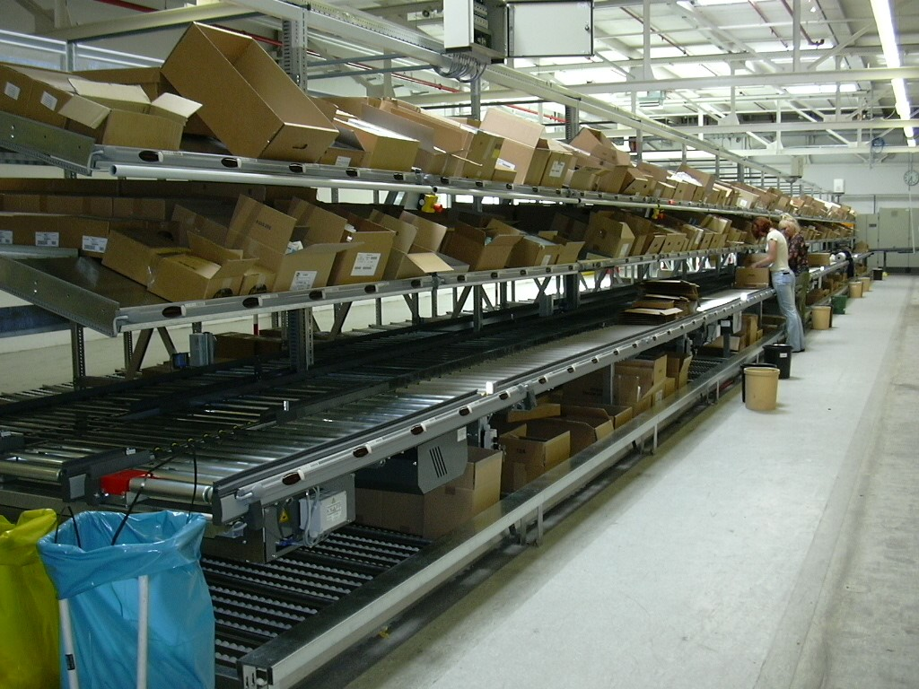 LIFO systems with conveyor line