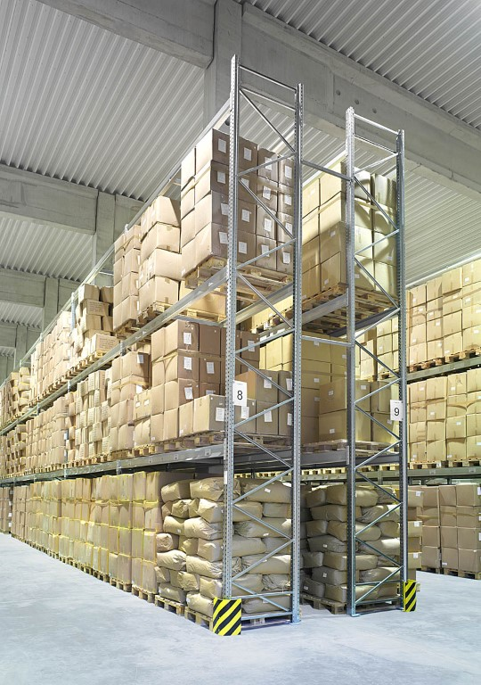 Multi-position systems as pallet racking