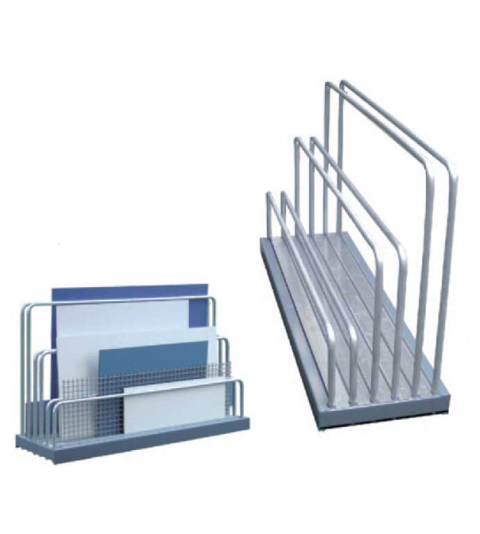 Sheet plate rack for leftover pieces Typ VLR
