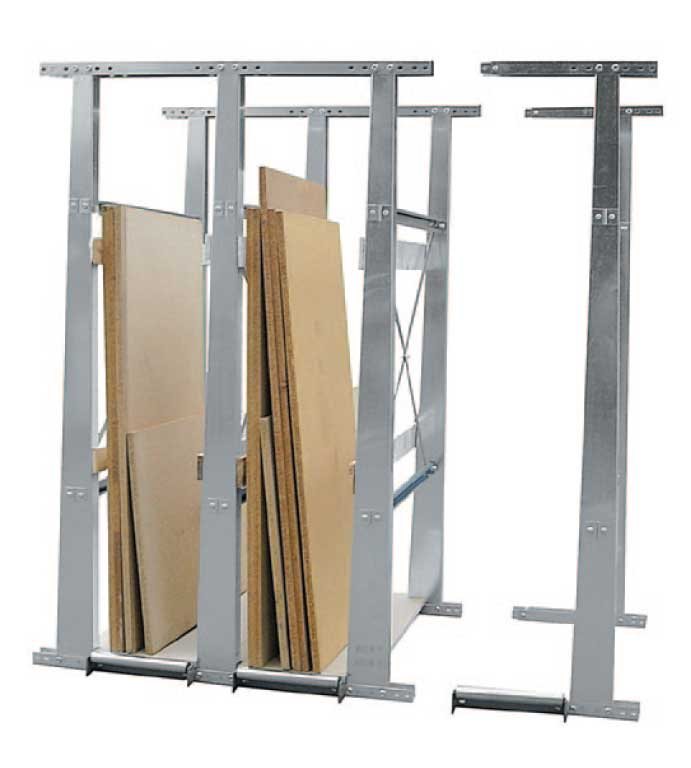 Vertical storage racks Typ VLT