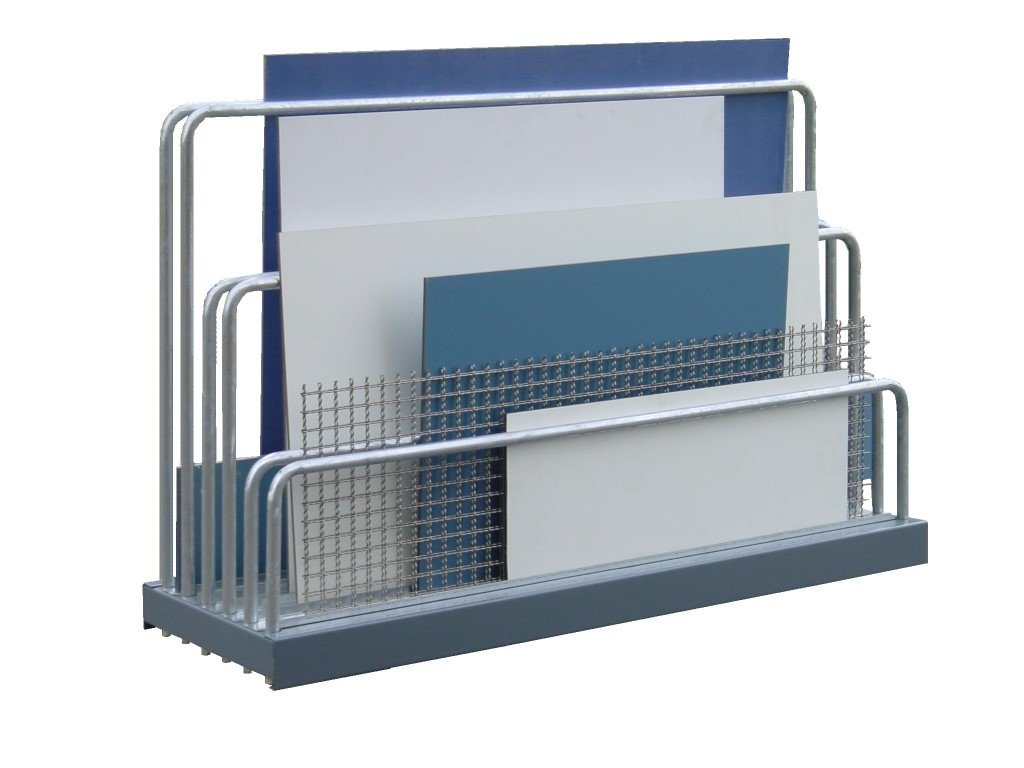 Sheet plate rack for offcuts