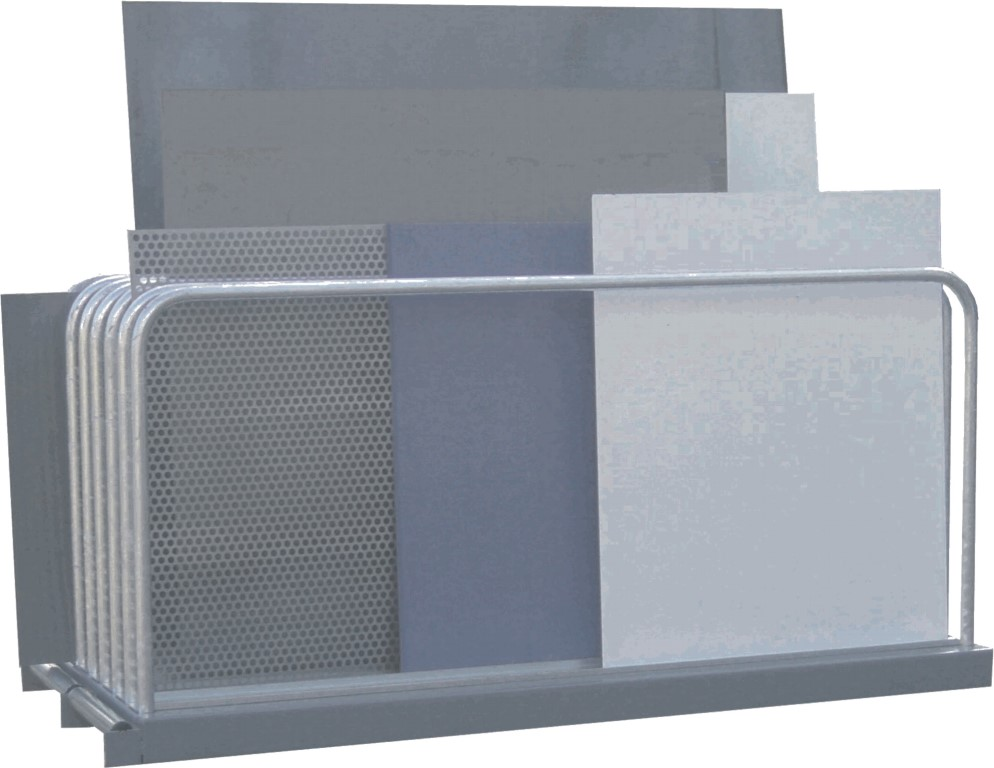 Sheet plate rack type VLT for sheet plate storage