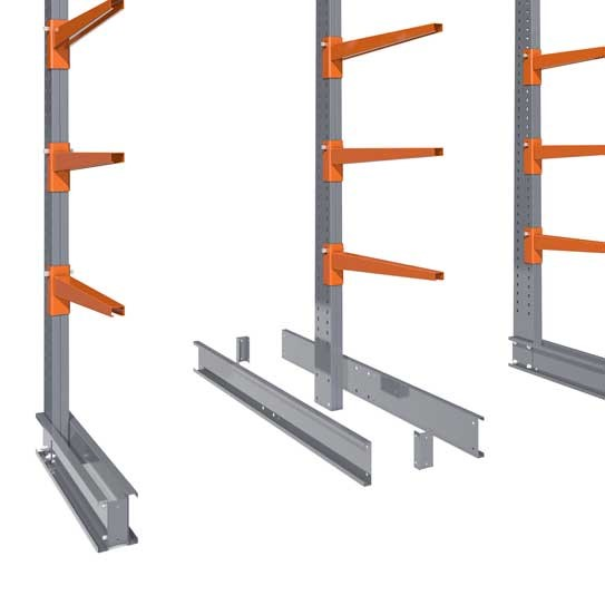 Cantilever racking and its components