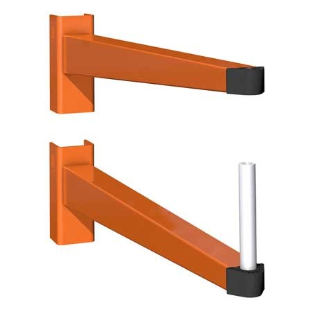 Accessories for cantilever racking, here the cantilever arms