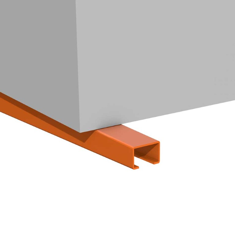 Accessories for cantilever racking, here the large support surface of the cantilever arms