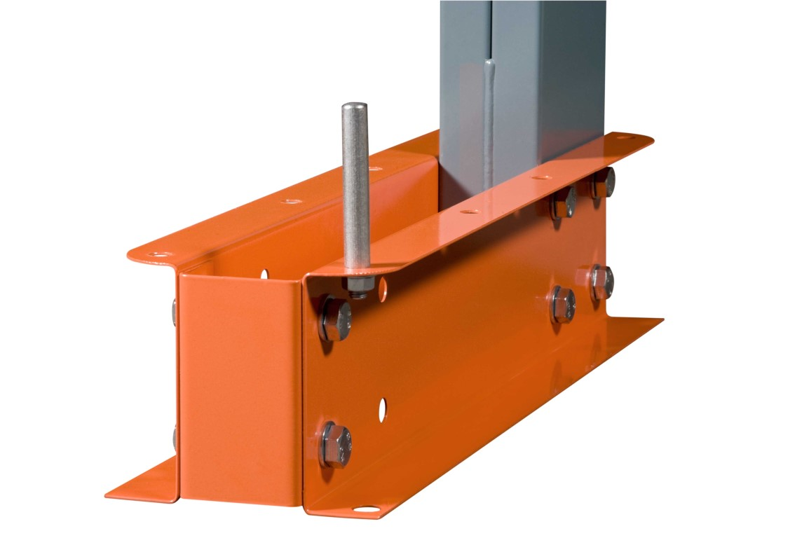 Cantilever racking accessories for medium loads